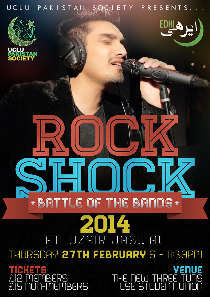 UCLU Pakistan Society Rock Shock 2014